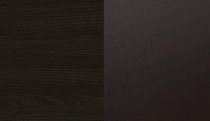 Венге + экокожа «дила шоколад»