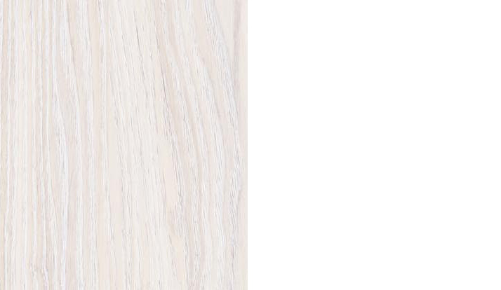 «ясень анкор светлый» + экокожа «polo белая»